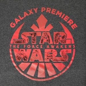 RARE Star Wars The Force Awakens 2015 T Shirt XL